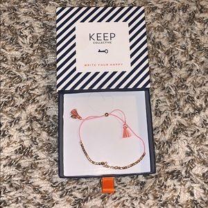 Keep Collective 'love' bracelet